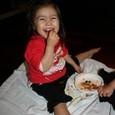 姫良:トマトを喜ぶ。